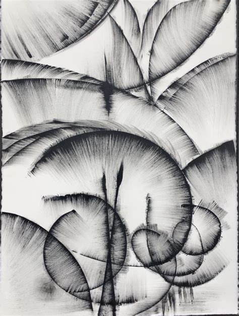 Abstract Easy Black And White by Black And White Abstract Drawing 2 Drawing By Khrystyna