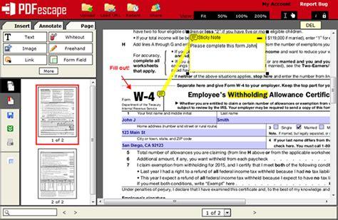 pdfescape what is pdfescape edit pdf files free form fill pdf files free