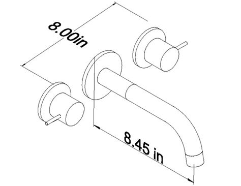 How To Measure Bathroom Sink by Wall Faucet Bathroom Sink Faucets