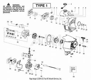 Poulan Sm132 Le Gas Trimmer Type 1 Parts Diagram For