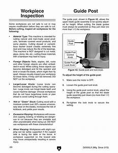 Workpiece Inspection  Guide Post