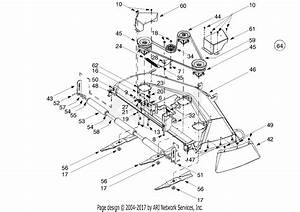 Mtd 14au807p352  2002  Parts Diagram For Mower Deck 50