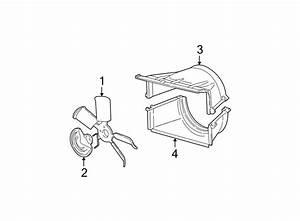 Chevrolet K1500 Engine Cooling Fan Shroud  Upper