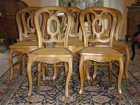 chaises louis philippe cannées suite de 8 chaises cannées d 39 époque louis philippe en