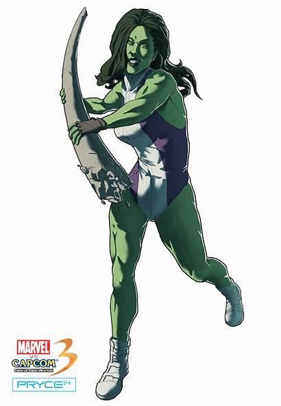Hulk She Marvel Games Comics Fan Cosplay