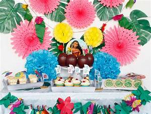 Ideas for A Moana Themed Birthday Party - The Crafting Chicks