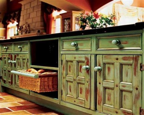 Kitchen cabinets colour combination, blue and yellow