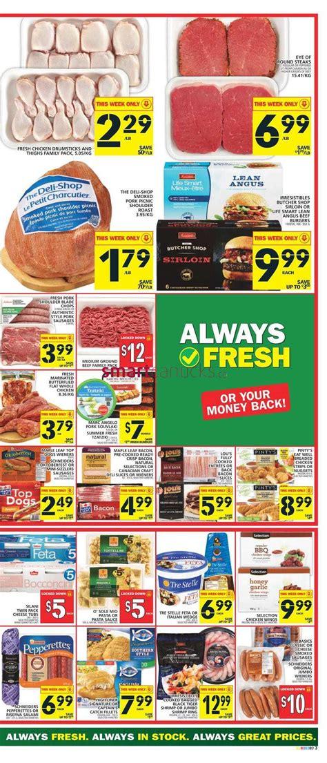 basics of cuisine food basics flyer august 11 to 17