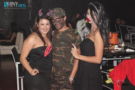 En Photos, Soirée Halloween Au Bubble's Lounge