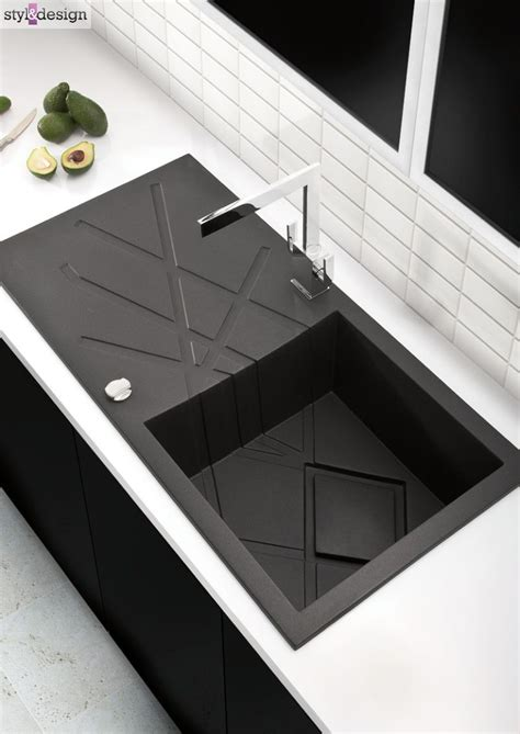 Modern Kitchen Sink by Modern Black Kitchen Sink Something Something