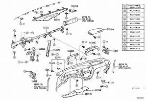 Toyota Sequoia Fuse Box Cover  Cover  Fuse Box Opening
