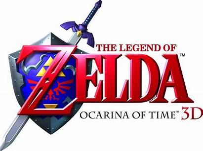 Zelda Ocarina Legend 3d Logos 3ds Loz