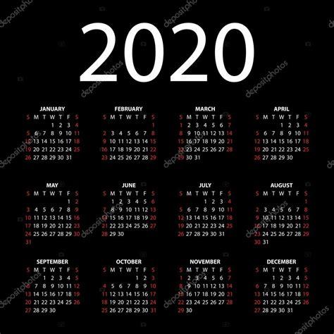 calendario il su sfondo nero vettoriali stock