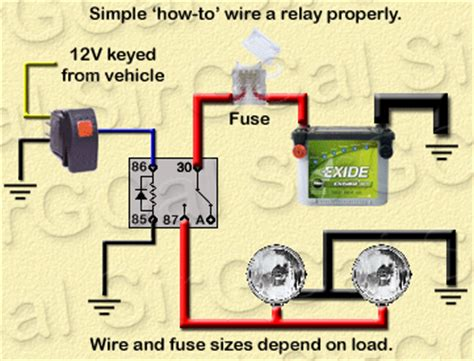 Aux Light Wiring Diagram 5 Wire Relay by Relay Wiring For Led Light Bar Ih8mud Forum