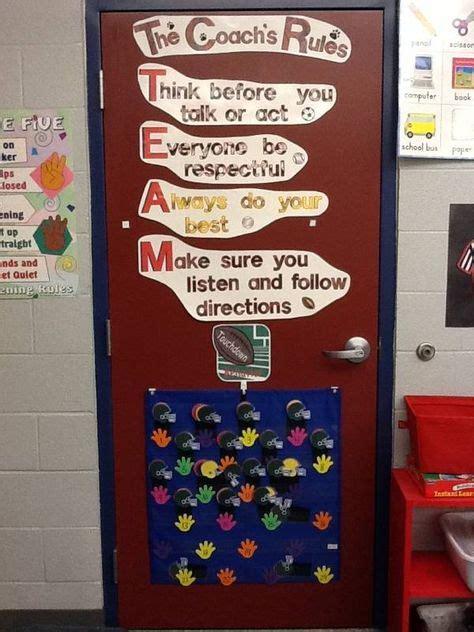 ideas  sports theme classroom  pinterest