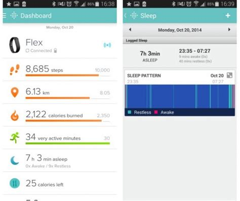 fitbit app for android of things slimme koelkasten fitness armbanden