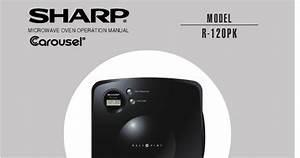 Sharp Carousel Microwave Manual