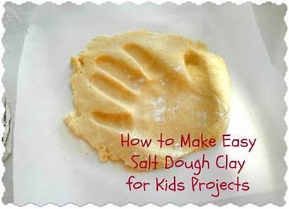 Clay Dough Salt Easy Projects Flour Water