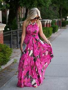 summer beach wedding guest dresses with floral chiffon With beach wedding dresses guest