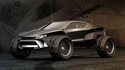 Concept Desktop Gray Sidewinder Buggy Dune Cars