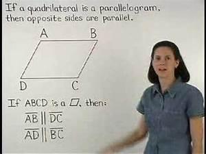 Definition Of A Parallelogram - Mathhelp Com