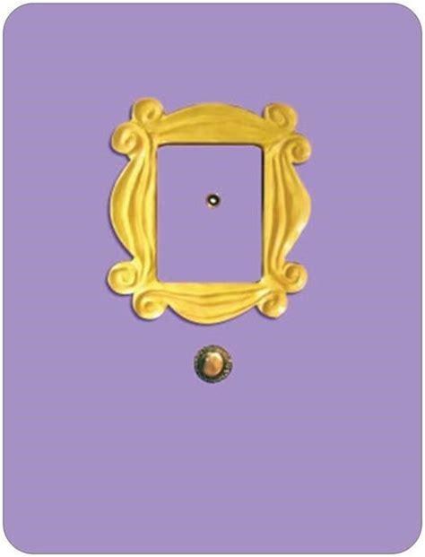friends door frame large 8 85x11 6 quot magnet friends tv show s peephole