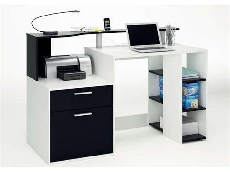 choisir fauteuil de bureau bureau oracle coloris blanc noir vente de bureau