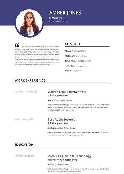 attractive cv templates free download beautiful resume templates learnhowtoloseweight net