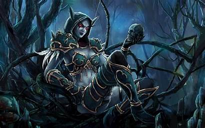 Warcraft 4k Wallpapers Sylvanas Background Ultra Windrunner