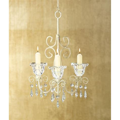 wholesale shabby chic metal scroll candle chandelier