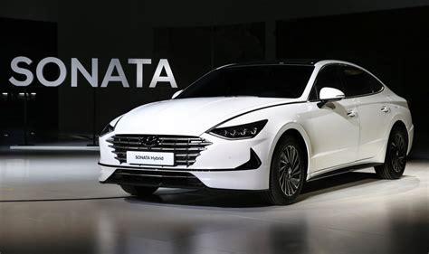 hyundai sonata 2020 2020 hyundai sonata turbo revealed at seoul motor show