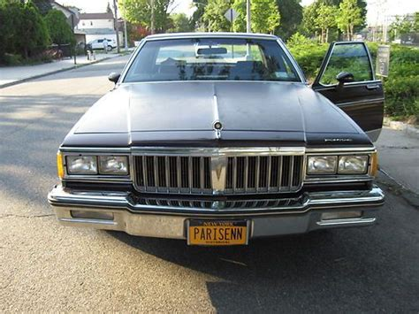 auto air conditioning repair 1985 pontiac bonneville head up display sell used 1985 pontiac parisienne brougham factory moonroof looks like bonneville in bronx new