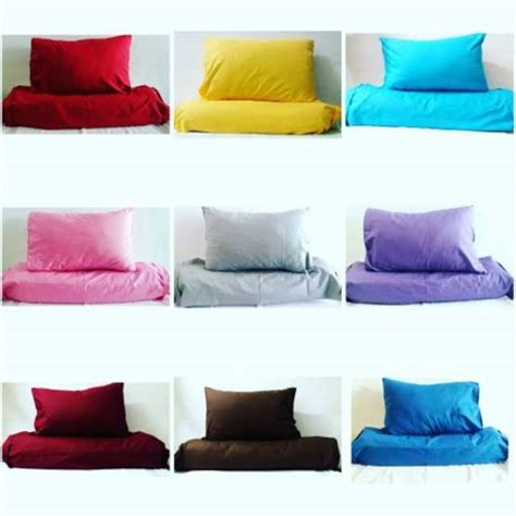 waterproof sarung bantal guling anti air anti ompol shopee indonesia