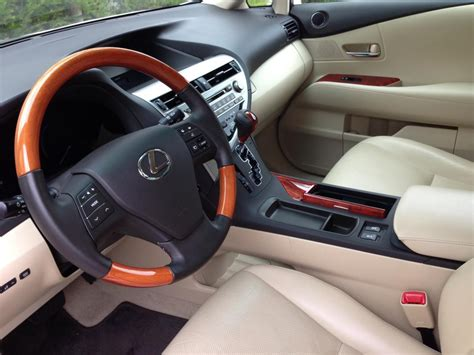 lexus rx steering wheel wood trim color