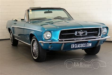 68 Ford Mustang by Ford Mustang 1968 For Sale At E R Classic Cars