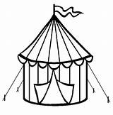 Tent Circus Coloring Pages Carnival Clipart Tents Printable Template Bible Templates Cookie Drawings Cutter Getcoloringpages Birthday Camping Printables 52kb 611px sketch template