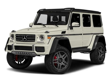 New 2017 Mercedes-benz G-class G 550 4x4 Squared Suv Msrp