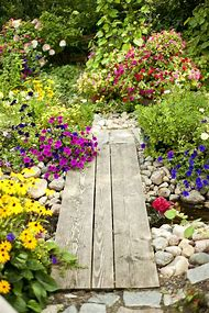 Fall Perennial Flower Garden