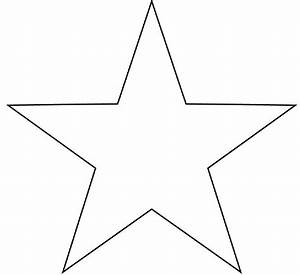 small star templates clipart best With small star template printable free