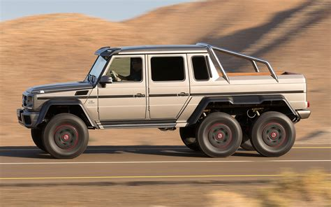 They've long been sold out after a run of 100 production vehicles, but one has surfaced for sale. 6 Wheel Mercedes G Wagon Price | The Wagon