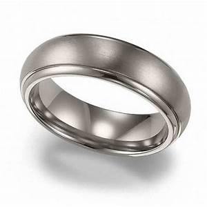 men39s triton 60mm titanium wedding band wedding bands With zales mens wedding rings