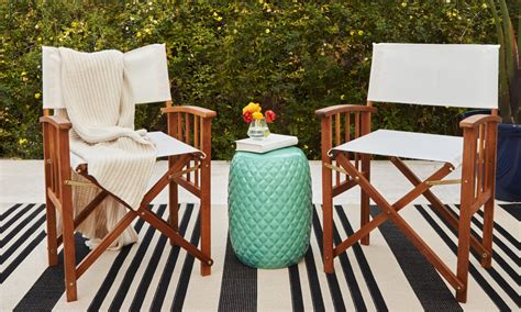 Swing chairs and hammock chairs offer a fun and relaxing way to enjoy time outside. How to Choose Patio Furniture for Small Spaces | Overstock.com