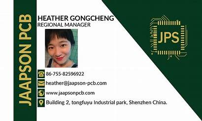 Heather Gong Pcb China Regional Manager Cheng