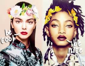 Kendall Jenner Willow Smith