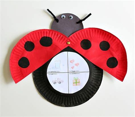 ladybug paper plate project allfreekidscrafts 686 | Ladybug Paper Plate Project Large600 ID 1055193