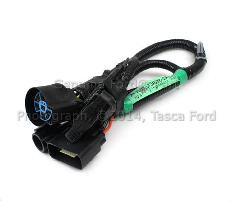 Ford Replacement Oem Tow Package Wiring Harnes 7way by Oem 7 Pin Connector To Trailer Wiring Harness 05 07 Ford F