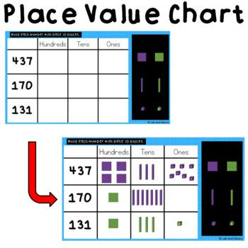 building  digit numbers digital place  activities