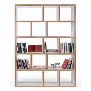 étagère Bibliothèque Bois : temahome etag re biblioth que berlin 5 niveaux 150 cm ~ Teatrodelosmanantiales.com Idées de Décoration