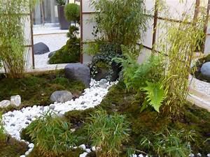 Jardin Japonais Interieur : jardin zen ~ Dallasstarsshop.com Idées de Décoration