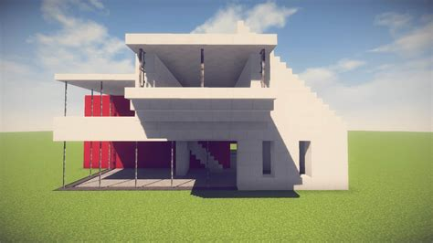 minecraft simpleeasy modern house easy minecraft house tutorial minecraft house design